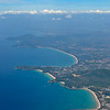 Flying over Kata, Karon & Patong Beaches (from bottom to top)