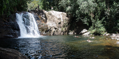 Sinharaja waterfall
