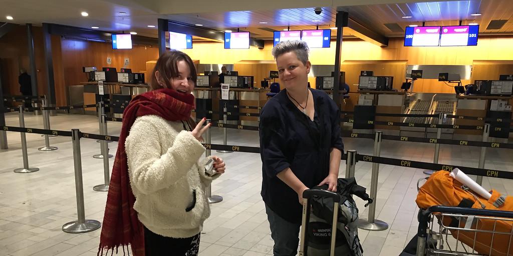 Departure to Sri Lanka