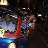 Adrian's first tuk tuk ride