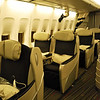 ...the upstairs business class cabin