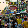 Khao San Road - backpaker heaven