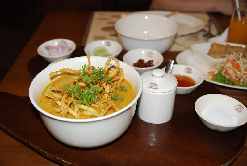 Khao Soi (Special Noodle in Northern Thailand)