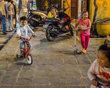 Children in Hoi An, Viet Nam