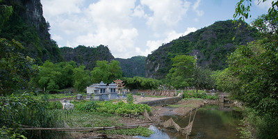 Cemetary in Tam Coc