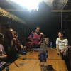 """""""Happy Water"""" drinking at the Homestay"""