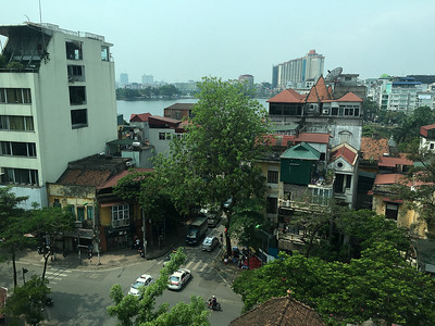 View from our place in Hanoi - Near Truc Bach