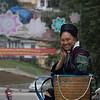 H'Mong Woman in Sapa town