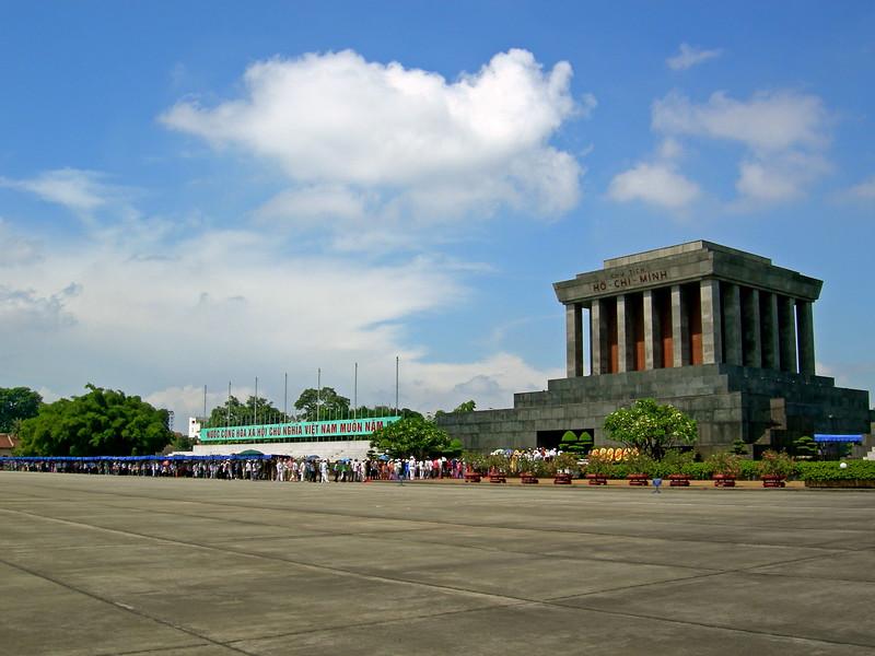Ho Chi Minh's Tomb - Hanoi
