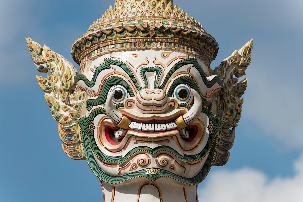 Yaksha Demon Statue, Bangkok