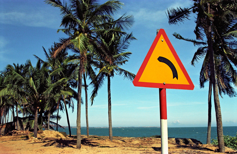 Road Sign, Vietnam
