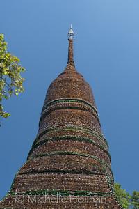 Wat Pa Maha Chedi Kaew, Sisaket, Thailand