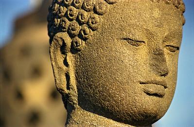Buddha Statue, Borobudur,