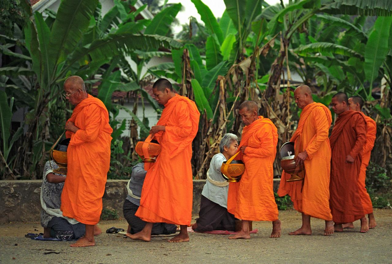 Morning Alms, Luang Prabang