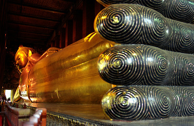 Statue of Reclining Buddha, Bangkok