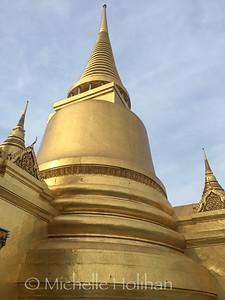 Phra Siratana Chedi, The Grand Royal Palace, Bangkok, Thailand