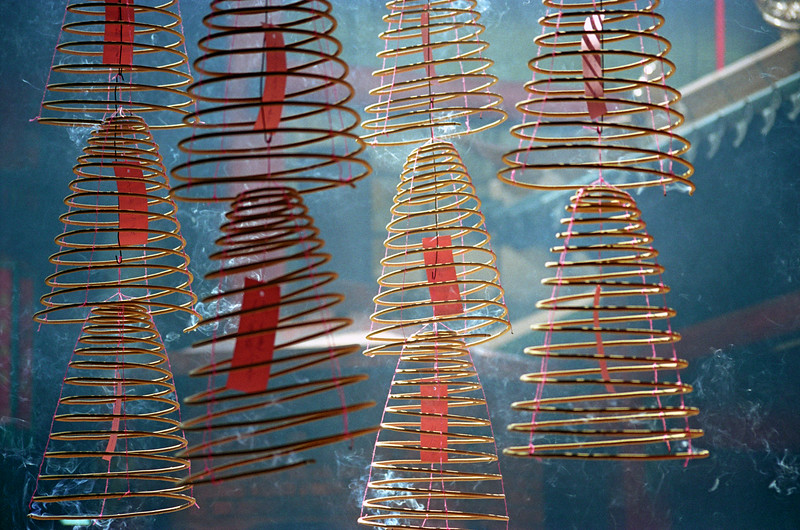 Spiral Incense at Chinese Temple, Kuala Lumpur