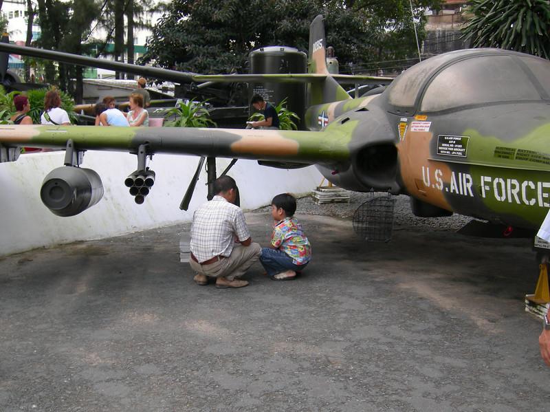 Lessons - Vietnam War Museum, Saigon