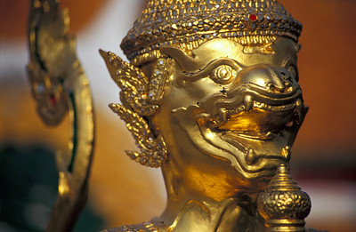 Deity Statue, Temple of Emerald Buddha