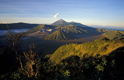 Volcanic Landscape of Mount Bromo