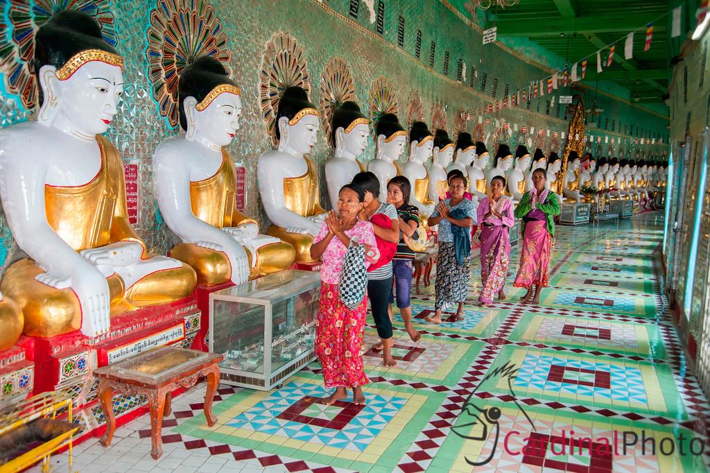 Mandalay Temples, Myanmar
