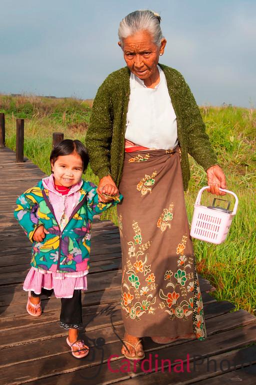 Mya Nint, Village, East Inle Lake, Shan State, Myanmar