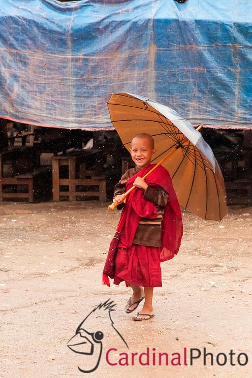 Sagaing Nunnery, School, Mandalay Hill, Mandalay, Myanmar