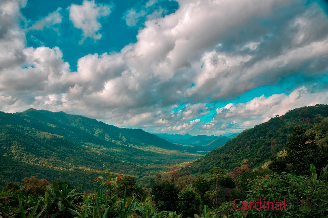 Shan State Kalaw and Pindaya, Myanmar by David Cardinal