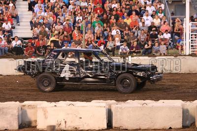 Demolition Derby August 11th 2009