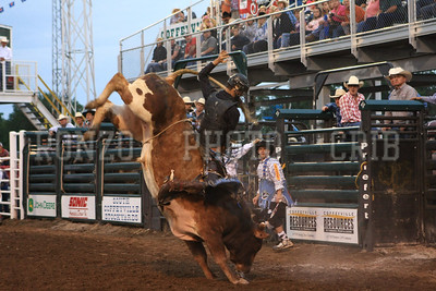 PRCA BULL RIDING 1 2012-0814-028