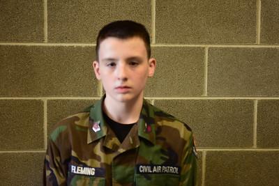 (E) Fleming, Cadet TSgt Caleb
