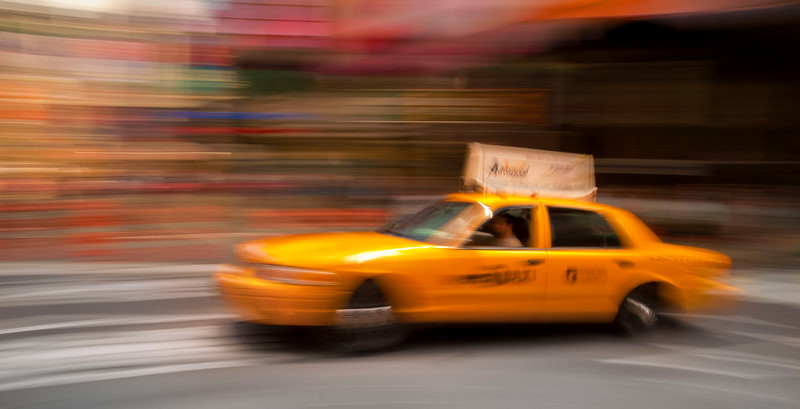 Taxi; NewYork City; New York; USA
