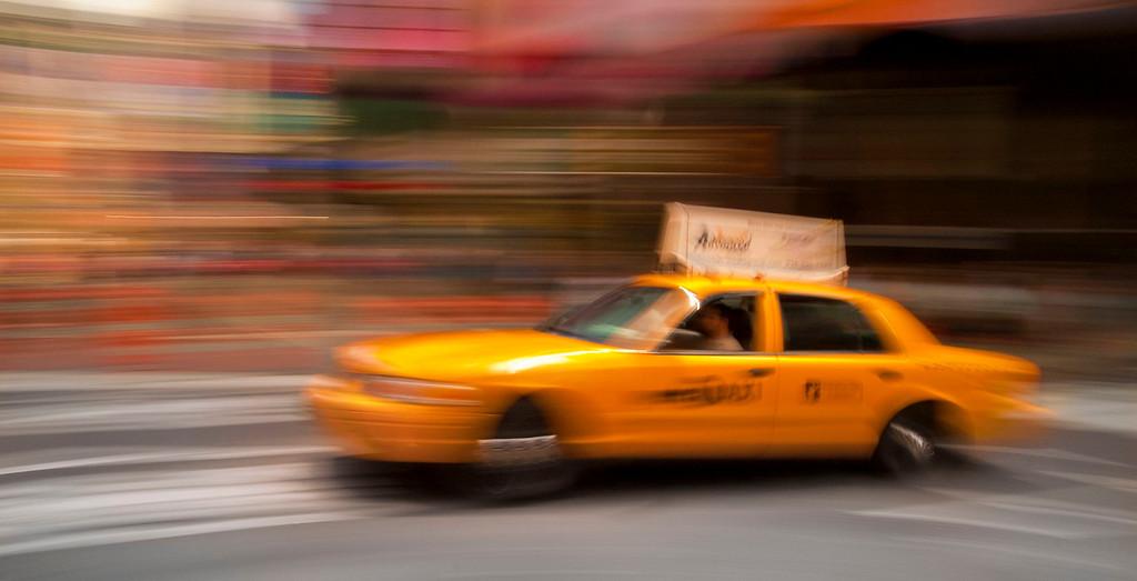 Taxi; NewYork City; New York; USA