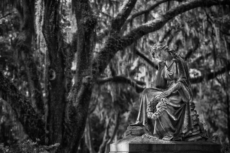 Bonaventure Cementery; Savannah; Georgia; USA