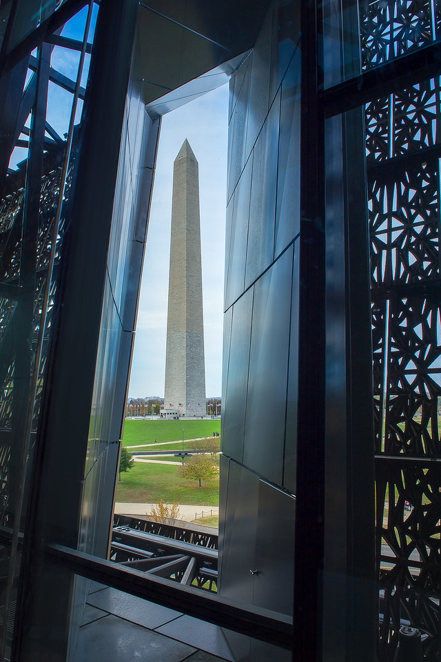 Washington Monument; National Museum of African American History and Culture; Washington; District of Columbia; USA