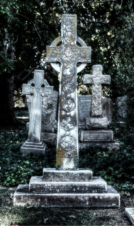 Cemetery; University of Virginia; Charlottesville; Virginia; USA