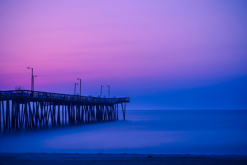 Fishing Pier; Virginia Beach; Virginia; USA