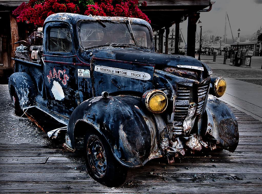 Pickup; Key West; Florida; USA