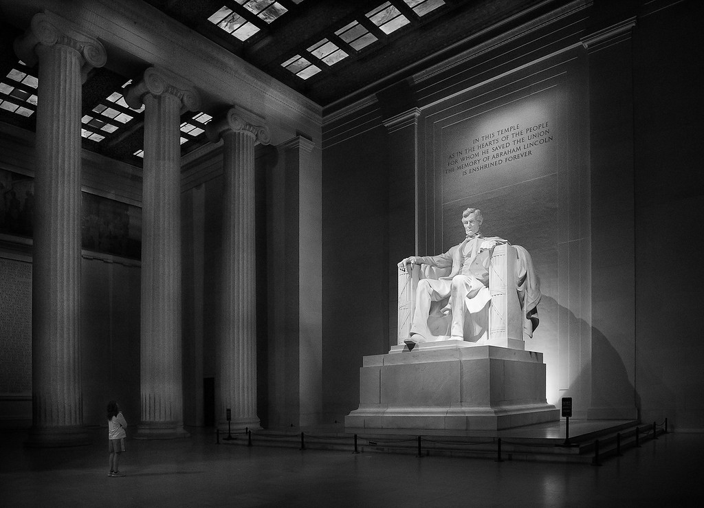 Lincoln Memorial; Washington; District of Columbia; USA