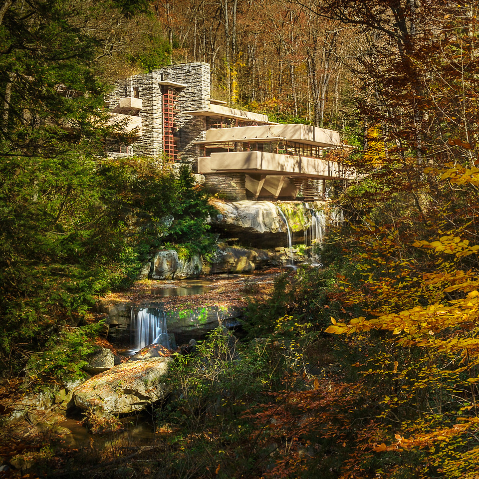 Fallingwater; Frank Lloyd Wright; Mill Run; Pennsylvania; USA