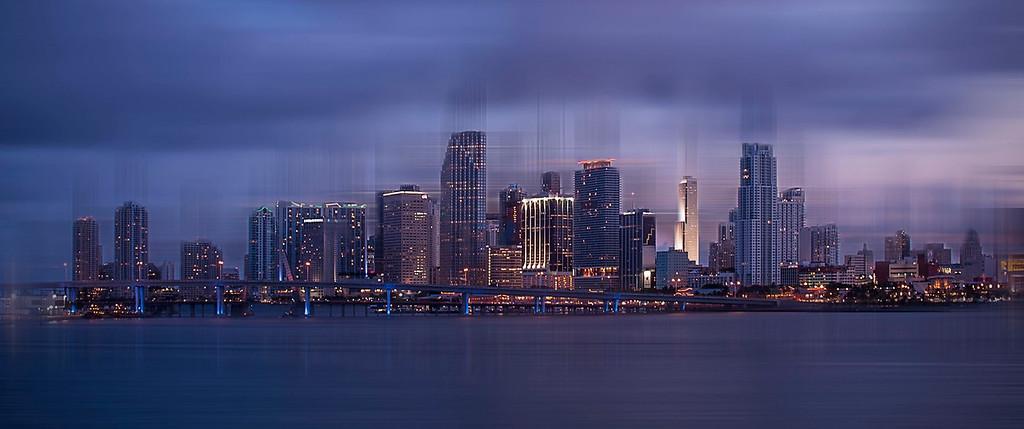 Downtown Miami; Miami; Florida; USA
