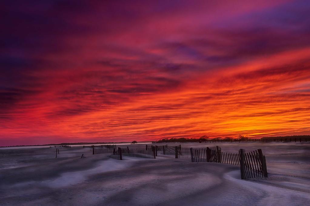 Folly Beach; South Carolina; USA