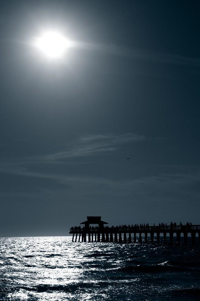 Pier; Naples; Florida; USA