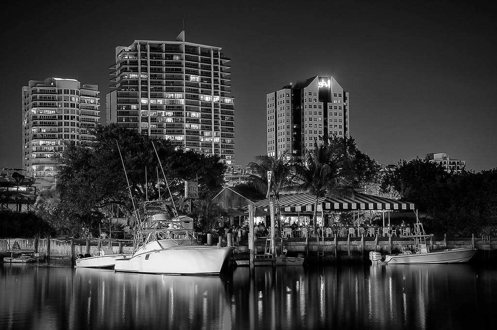 Marina; Coral Gables; Miami; Florida; USA