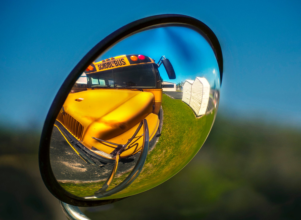 School Bus; Florida City; Florida; USA