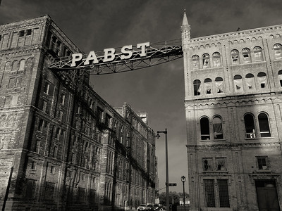 Former Pabst Brewery Milwaukee Wisconsin