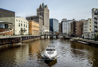 Milwaukee Riverwalk.