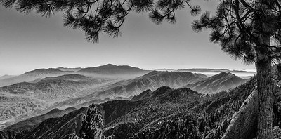 From Mt. San Jacinto looking south to Mt. Santa Rosa