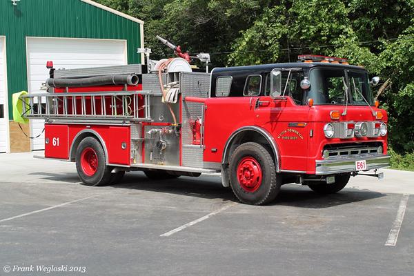 Engine 61 - 1987 Ford C/FMC (#7149) Pumper - 1500gpm/1000gal