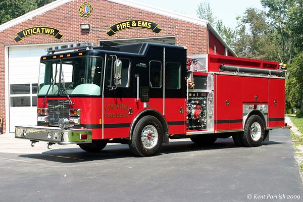 Former Engine 62 - 2007 HME/Ferrara Intruder II Pumper - 1500gpm/1000gal